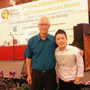 Yellow Ribbon Golf Tournament Dinner Fund Raising Event with Emeritus Minister Goh Chok Tong