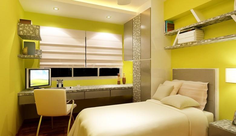 Bedroom & Study 1