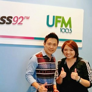 Talk on 'Life Inspiration' @ UFM100.3