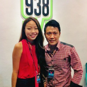 Interview by 93.8 & 100.3 'Successful Life Through Believes'