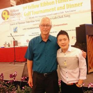 Yellow Ribbon Golf Tournament Dinner Fund Raising Event with Emeritus Minister Goh Chok Tong